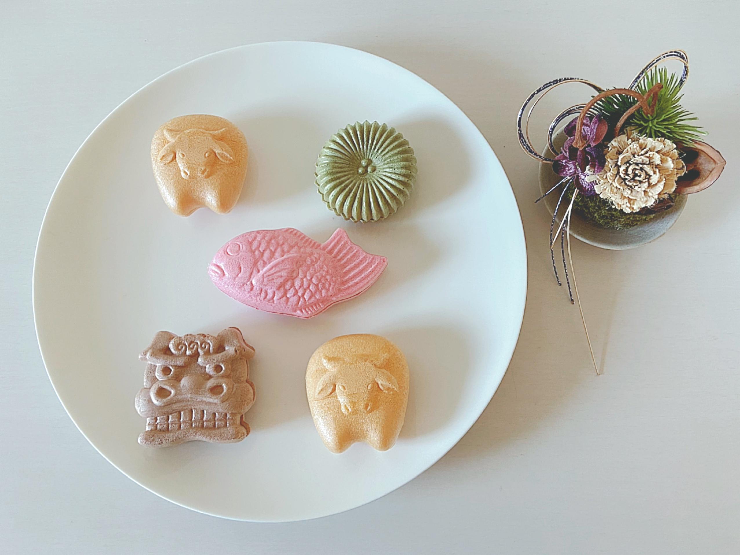 岡山市北区 住宅街にある粋な和菓子屋さん 今八ふたわ