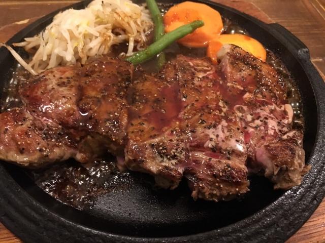 牛肉(ステーキ/フライパン)
